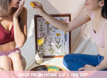 SHOP FROM HOME 3.0 | 15% OFF  [13-16 MAY]