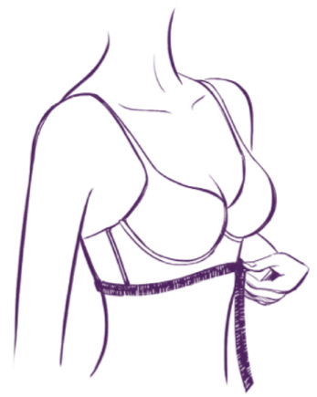 Bra Fitting Size Guide Step 1