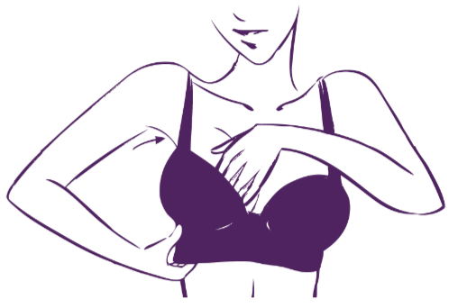 HOW TO PUT ON A BRA - Step 4