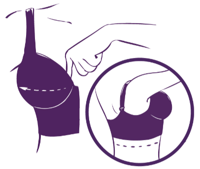 HOW TO PUT ON A BRA - Step 5